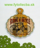 Podtácka Riding a bicycle 18 x 23 cm