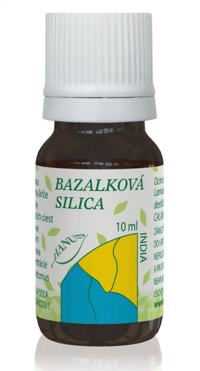 Bazalková silica India 10ml